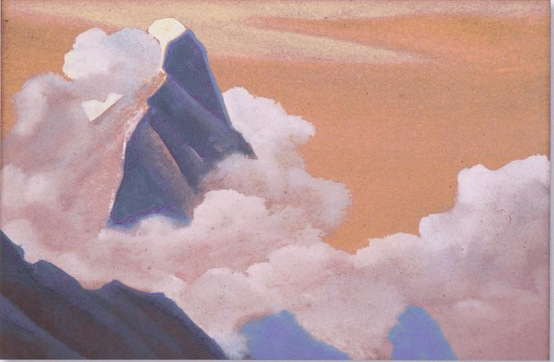 The Himalayas (Lonely Peak). Roerich N.K. (Part 5)