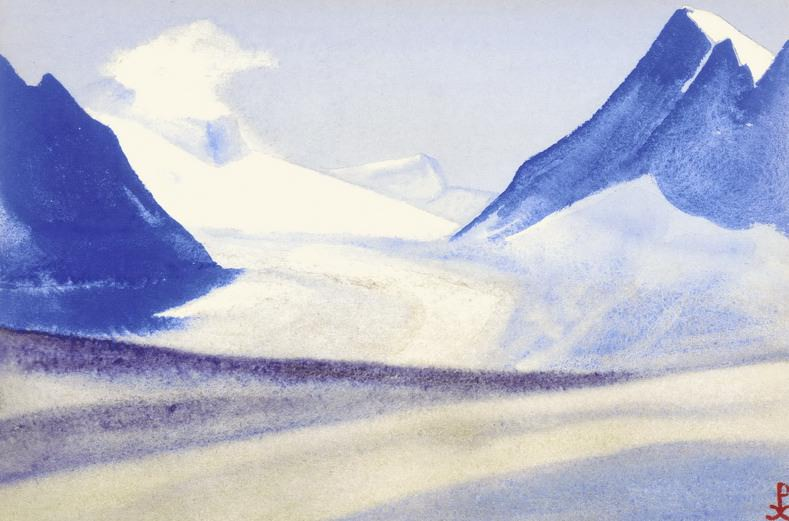 Pass # 59 Pass (icy road into the sky). Roerich N.K. (Part 5)