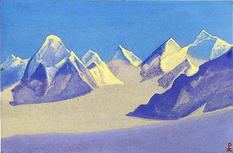 The Himalayas # 35. Roerich N.K. (Part 5)