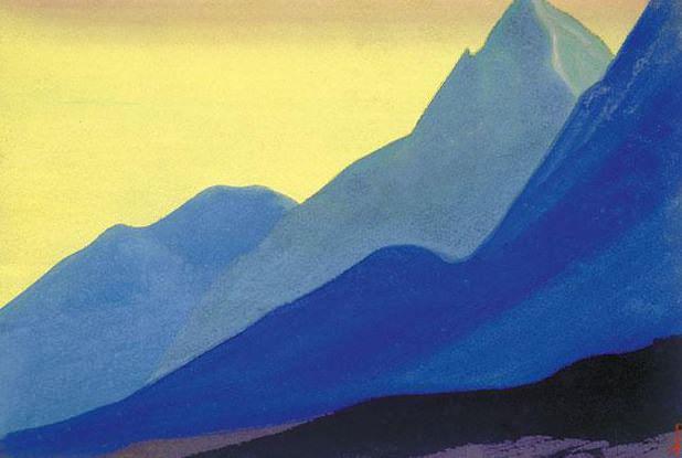 Гималаи #33 Разноцветье склонов. Рерих Н.К. (Часть 5)
