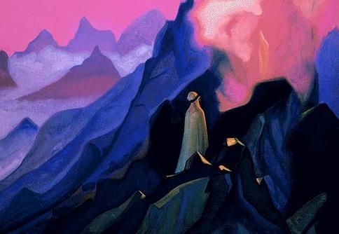 The Prophet # 167 The Prophet (Mohammed on Mount Hira). Roerich N.K. (Part 5)