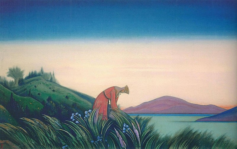 Good grass # 44 Good Herbs (Vasilisa Wise). Roerich N.K. (Part 5)