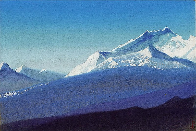 The Himalayas # 210. Roerich N.K. (Part 5)