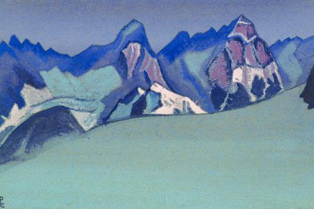 The Himalayas # 119 Gems of the mountains. Roerich N.K. (Part 5)