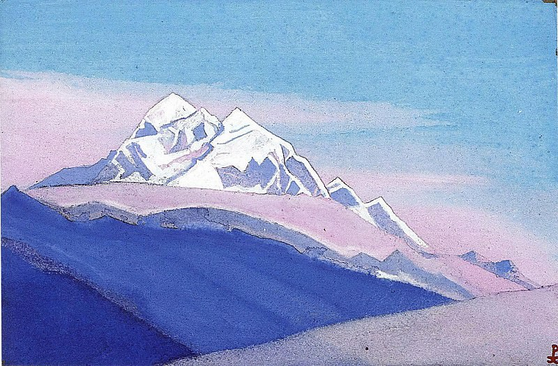 Himalayas # 76. Roerich N.K. (Part 5)