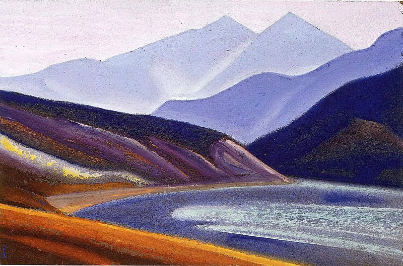 The Himalayas # 107. Roerich N.K. (Part 5)