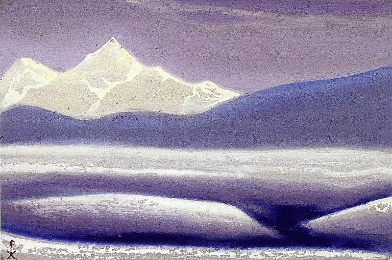 # 65 Himalaya mountains of mist. Roerich N.K. (Part 5)