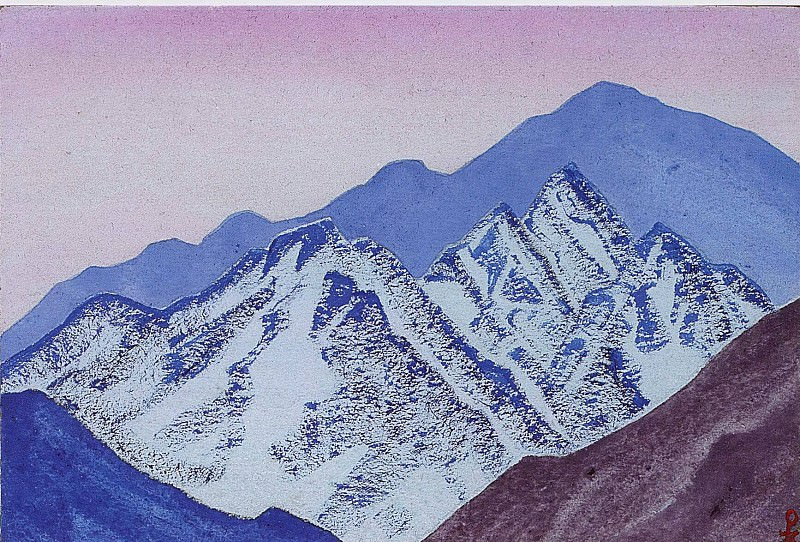 Himalayas # 83. Roerich N.K. (Part 5)
