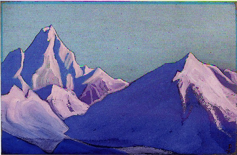 The Himalayas # 130. Roerich N.K. (Part 5)