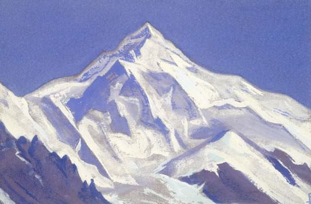 The Himalayas # 125 The Giant. Roerich N.K. (Part 5)