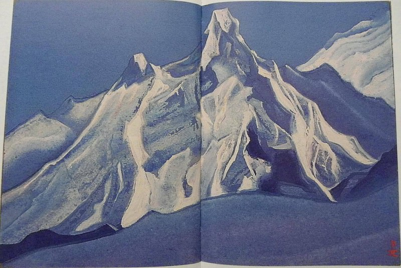 The Himalayas # 161. Roerich N.K. (Part 5)