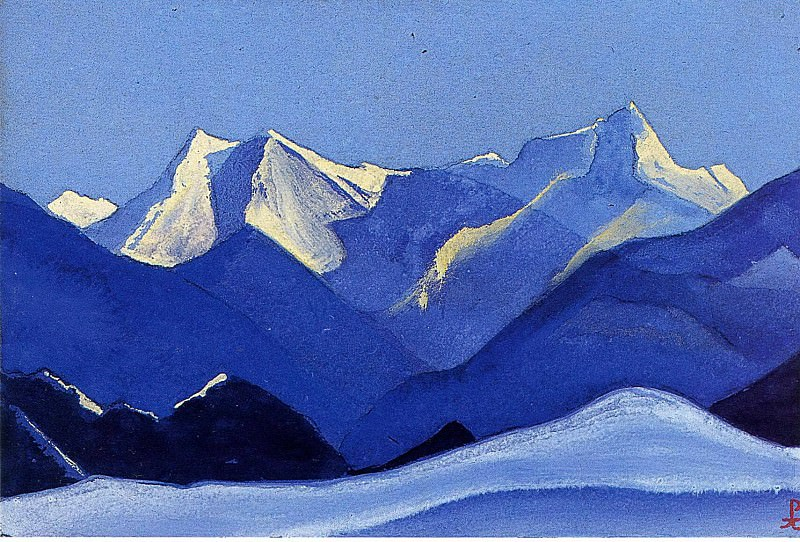 The Himalayas # 146. Roerich N.K. (Part 5)