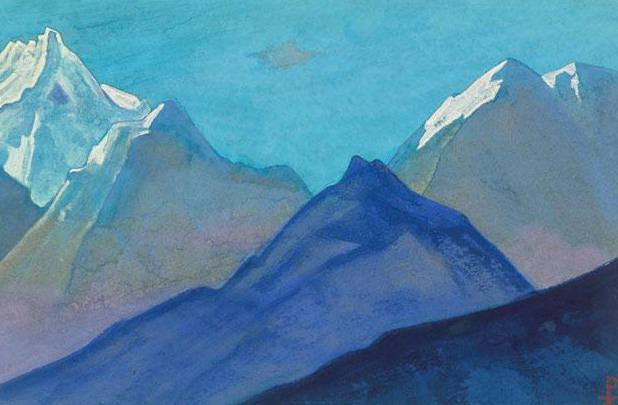 Гималаи #184 Безмолвие снежных вершин. Рерих Н.К. (Часть 5)