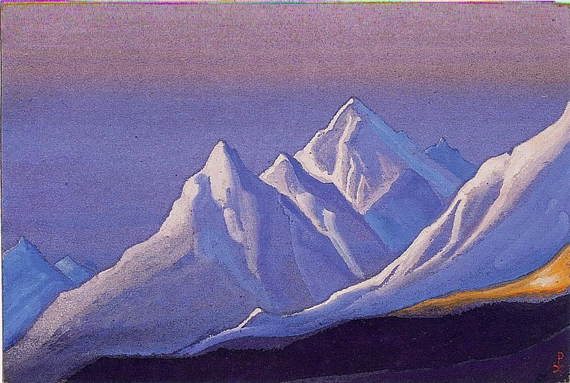 The Himalayas # 153. Roerich N.K. (Part 5)