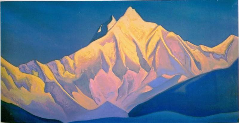 Nanda Davy # 27 (Nanda Devi). Roerich N.K. (Part 5)