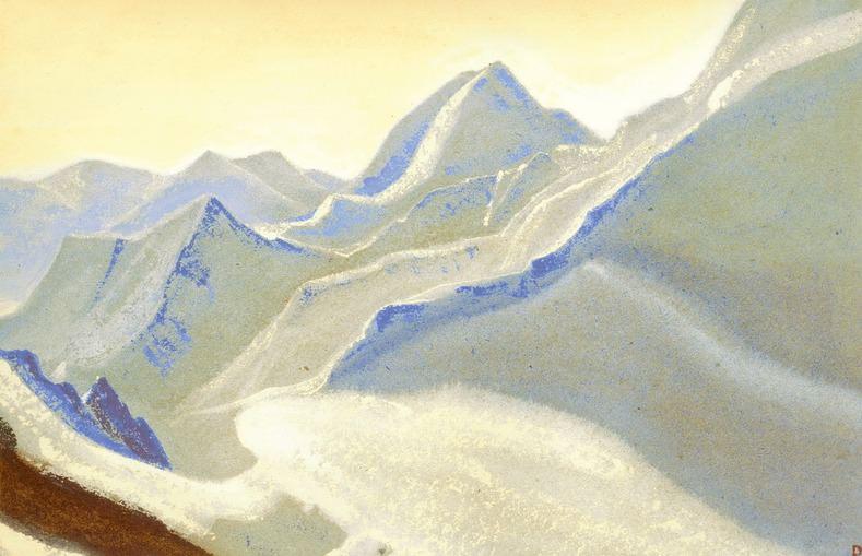 The Himalayas # 21 The Ice Saga. Roerich N.K. (Part 5)