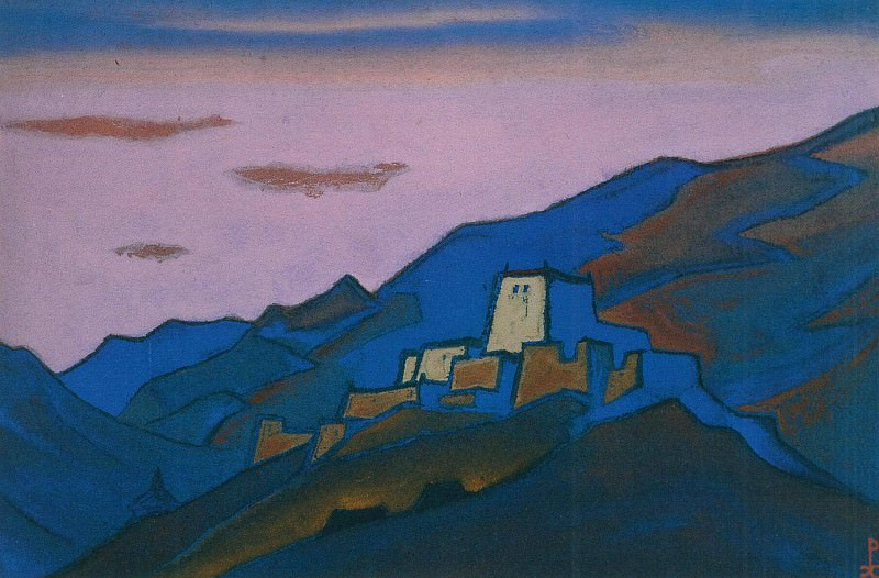 Tibet # 32 Tibet (Convent mountains). Roerich N.K. (Part 5)
