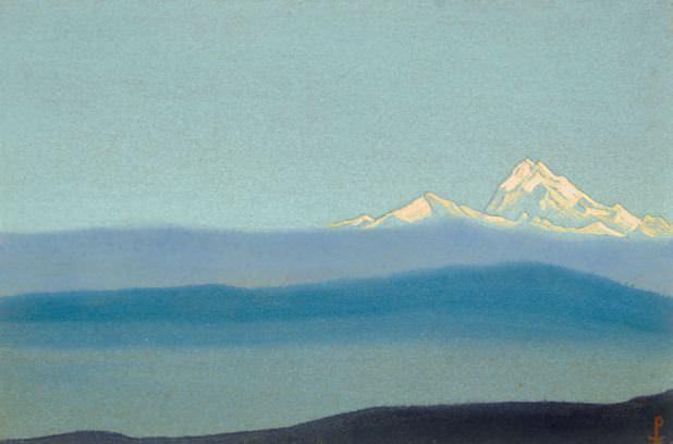 5 # Tibet Tibet (In the mists). Roerich N.K. (Part 5)