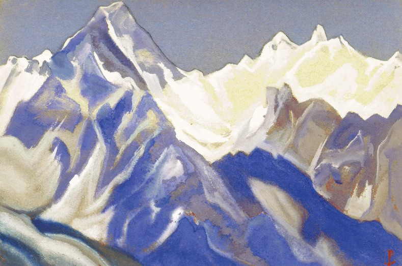 The Himalayas # 64 Mountain Citadel. Roerich N.K. (Part 5)
