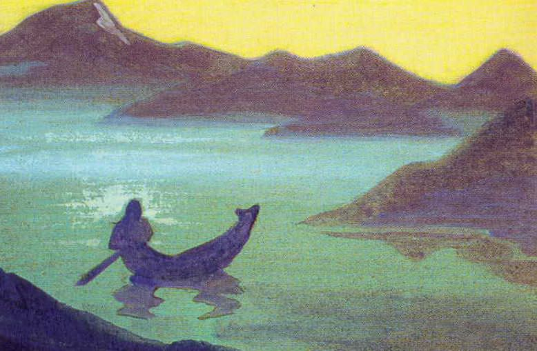 Bulletin of the Himalayas # 23 (Journal of the Himalayas. Sketch). Roerich N.K. (Part 5)