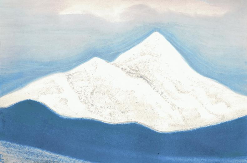 The Himalayas # 58 The Abode of the Snows. Roerich N.K. (Part 5)