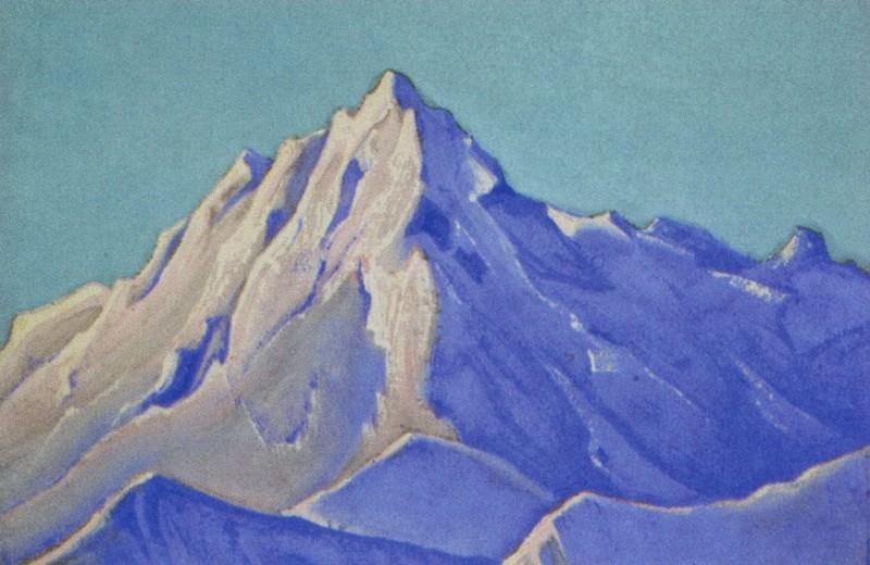 Гималаи #117 Вершина на солнце. Рерих Н.К. (Часть 5)