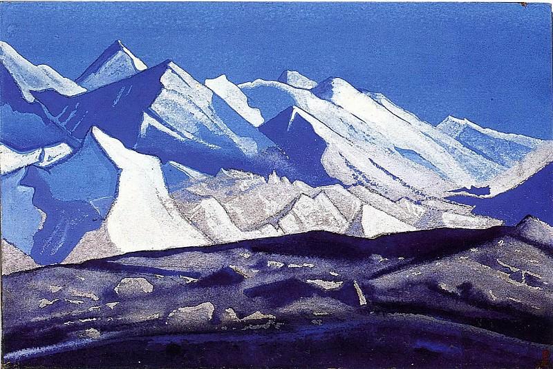 Himalayas # 58. Roerich N.K. (Part 5)