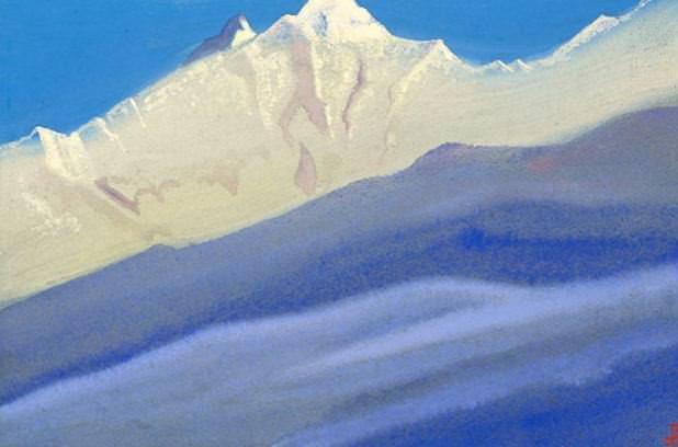 Nanga Parbat # 37 nanga Parbat (the kingdom of ice and snow). Roerich N.K. (Part 5)