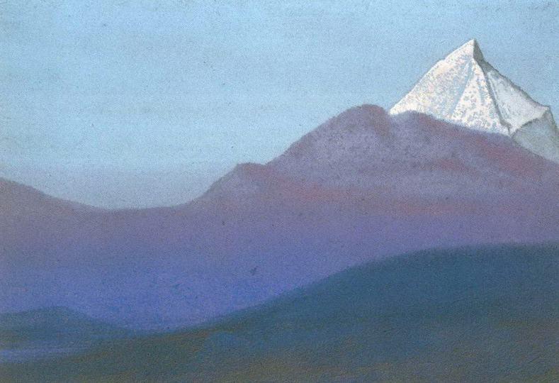 Гималаи #77 Розовый пик. Рерих Н.К. (Часть 5)