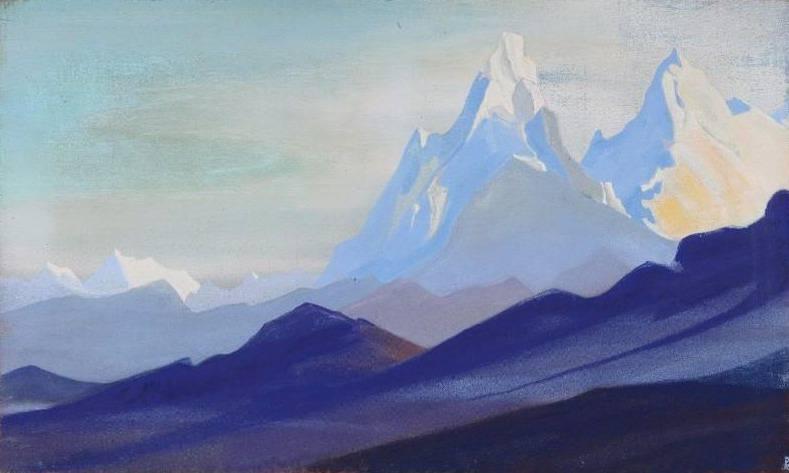 Himalayas # 53. Roerich N.K. (Part 5)