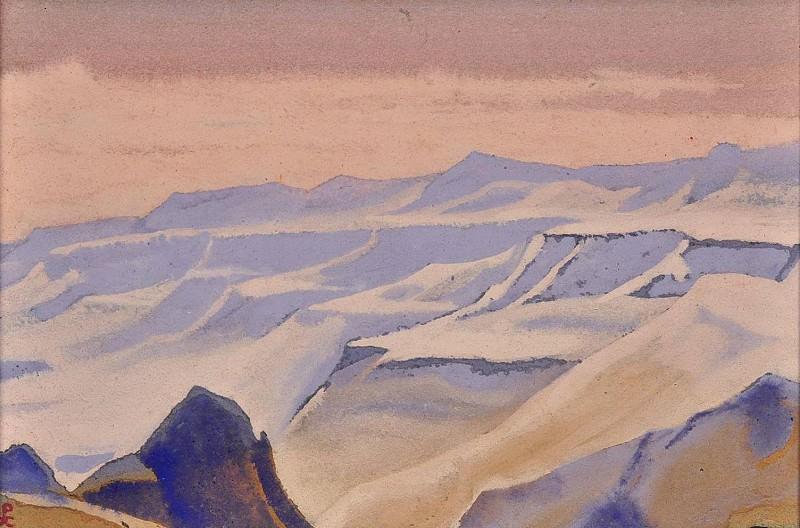 White Desert # 36. Roerich N.K. (Part 5)