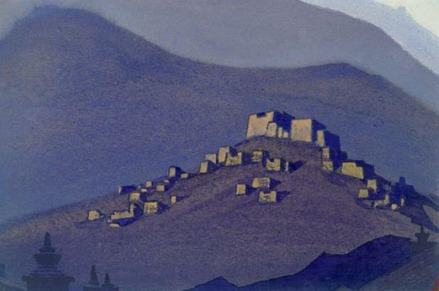 # 48 Tibet Tibet (selenium). Roerich N.K. (Part 5)