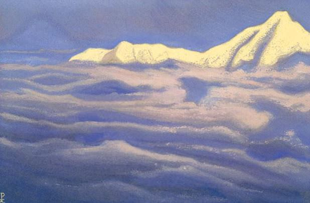 The Himalayas # 10 The Kingdom of God. Roerich N.K. (Part 5)