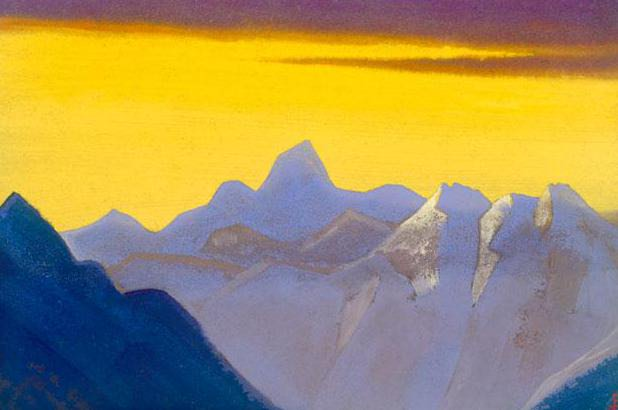 Himalayas # 57 Gone eternity. Roerich N.K. (Part 5)