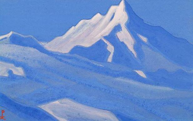 Гималаи #119 Синяя тишина. Рерих Н.К. (Часть 5)
