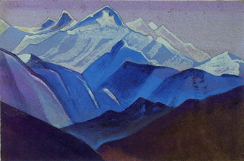 Himalayas. Roerich N.K. (Part 5)
