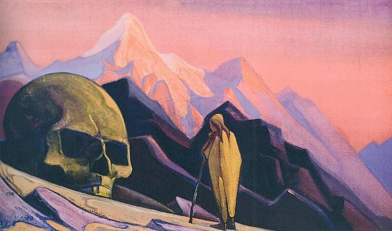 Issa and head Velikanova # 40. Roerich N.K. (Part 5)