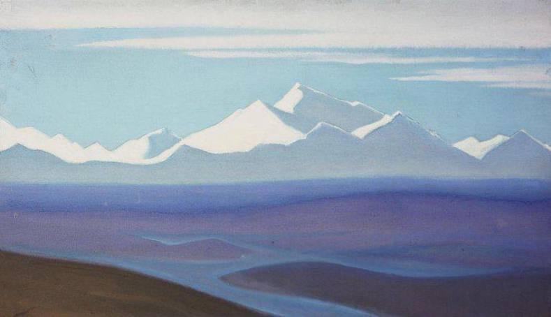 Граница Тибета. Рерих Н.К. (Часть 5)