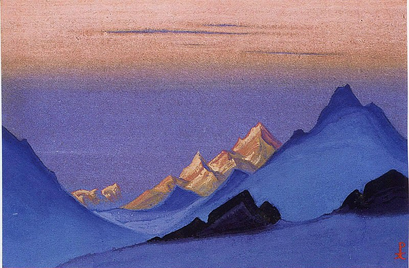The Himalayas # 162. Roerich N.K. (Part 5)