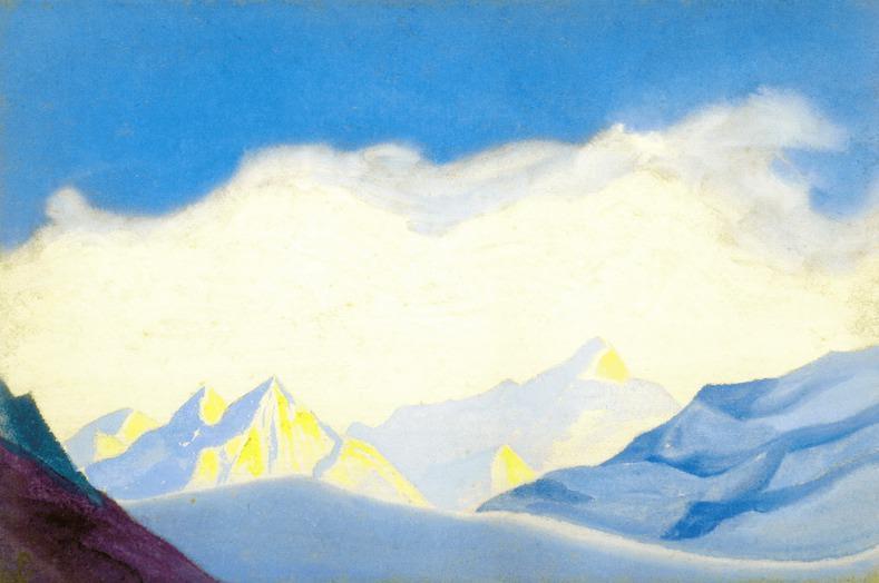 Гималаи #66 Под облаками. Рерих Н.К. (Часть 5)