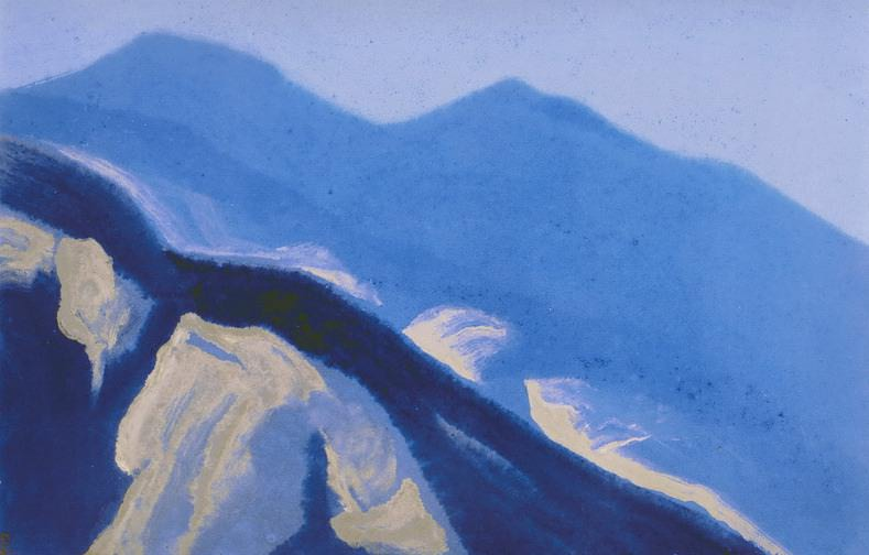 Himalayas # 82 Splashes of light. Roerich N.K. (Part 5)