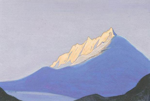 Гималаи #117 Снежный замок. Рерих Н.К. (Часть 5)