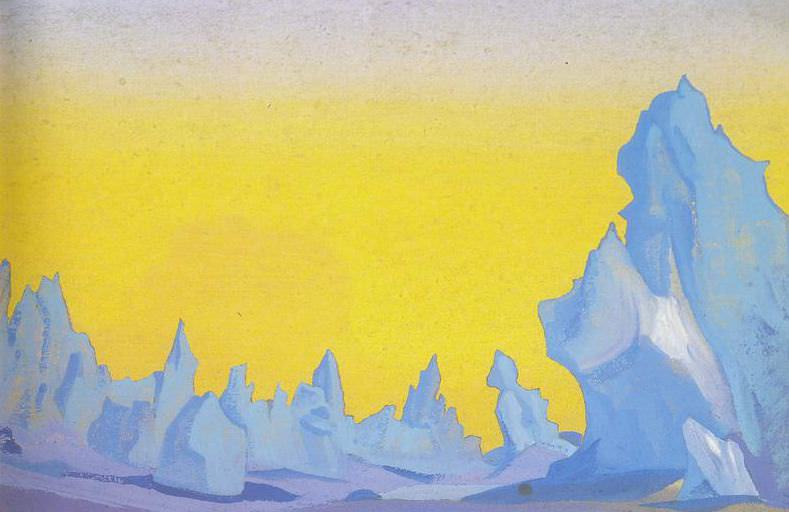 Ice Himalayas # 17. Roerich N.K. (Part 5)