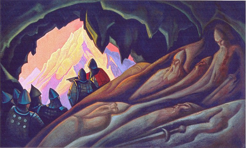 The Bogatyrs are awake # 33. Roerich N.K. (Part 5)