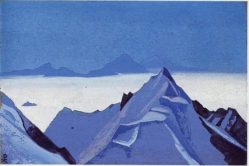 The Himalayas # 1. Roerich N.K. (Part 5)