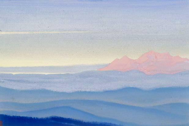 Desert # 53 Desert (Vision hot pink). Roerich N.K. (Part 5)
