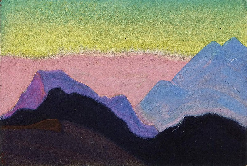 The Himalayas # 40. Roerich N.K. (Part 5)