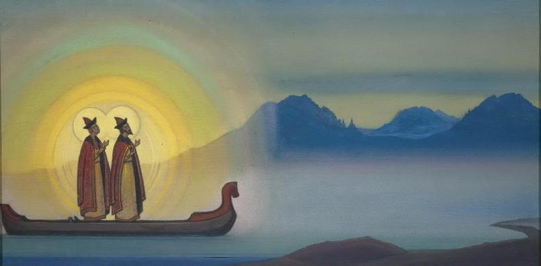 Boris and Gleb # 32. Roerich N.K. (Part 5)