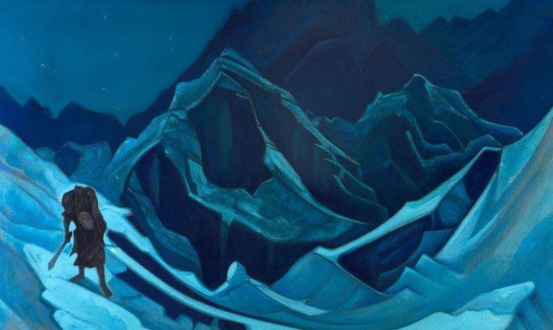 Flame Kamba La # 64 (Flame Flounder). Roerich N.K. (Part 5)