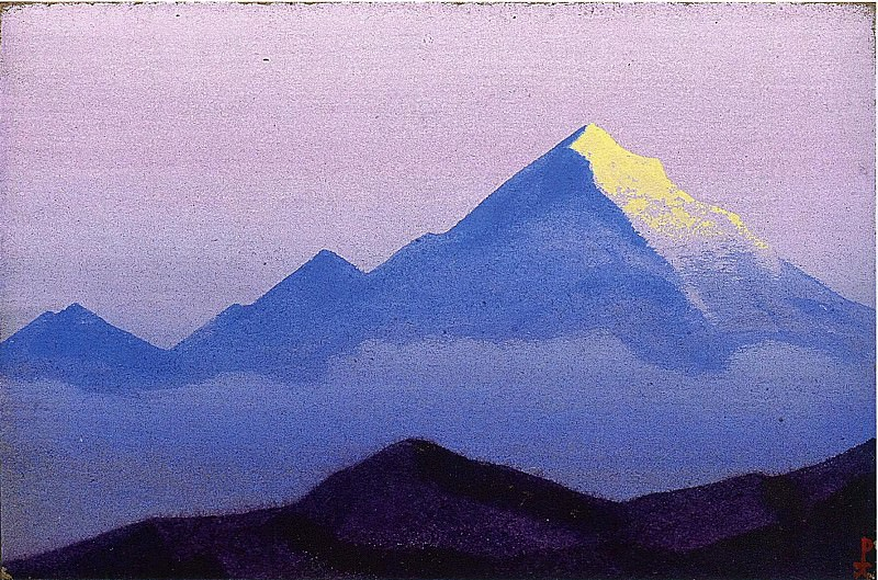 Himalayas. Roerich N.K. (Part 5)